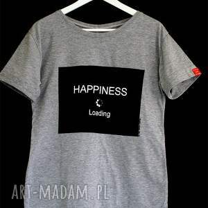 frapujące bluzki koszulka modna bluzka szara