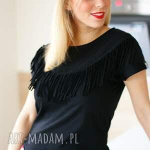 shirt bluzki modna czarna fajna koszulka bluzka