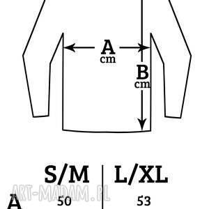 bluzki piwonia oversize bluzka
