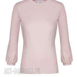bluzki klasyczna pudrowa bluzka amore