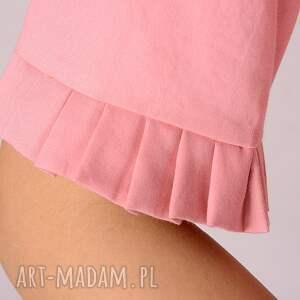 wyraziste bluzki koszula różowa