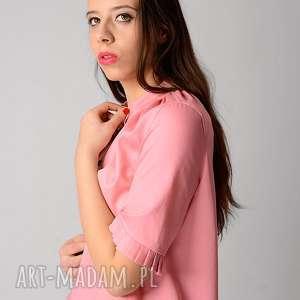 pastelowy bluzki różowa koszula