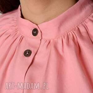 pastelowy różowa koszula