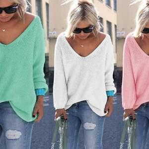 bluzki sweter sexy serek sweterek:)