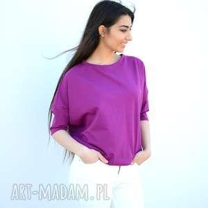 bluzki nietoperz szeroka luźna bluzka