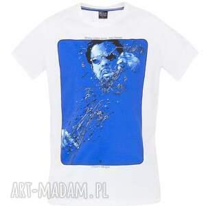 bluzki plakat t shirt z plakatem