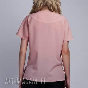 bluzki bluzka top, blu121 róż