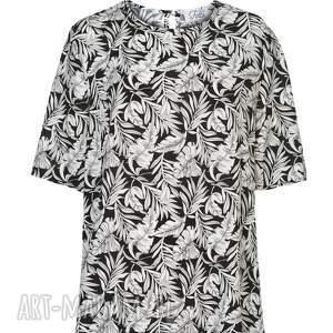 ręcznie wykonane bluzki polska marka uniwersalna bluzka z paskiem