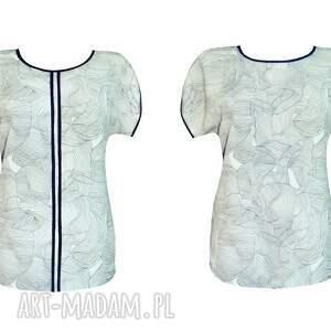 bluzka bluzki wzorzyste kimono