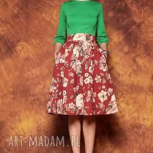 handmade bluzki zielona bluzka