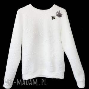 bluzy elegancka-bluza biała bluza white wild