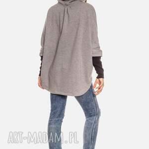 bluzy oversize bien fashion bluza damska kangurka