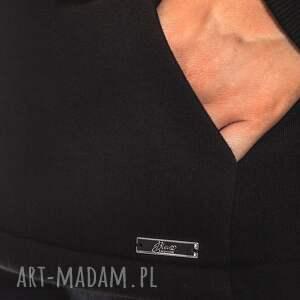 asymetryczna bluzy bien fashion czarna bluza damska