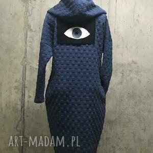 bluzy płaszcz bluza blue moon