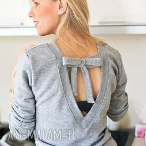 wyjątkowe bluzy fajnabluza bluza bluzka zawiązywana kokarda