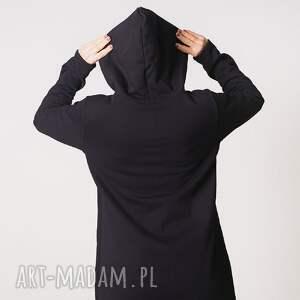 urokliwe bluzy bluza damska na zamek czarna