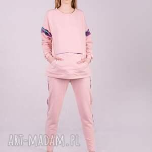 hand made bluzy bluza damska basic różowa