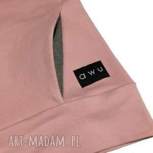 bluzy bluzadamska bluza damska z kieszonką z kominem