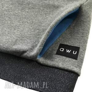 niebieskie bluzy bluzazkominem bluza damska z kominem i kapturem