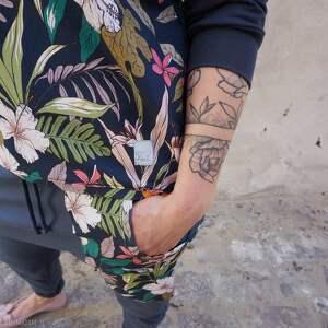 bluzy kwiatowy print bluza damska w kwiaty z dzianiny