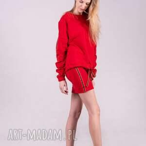 t shirty bluzy bluza damska czarwona kleopatra