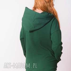 zielone bluzy wygoda bluza damska zielona butelka