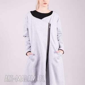 bluza długa margos szara - kardigan