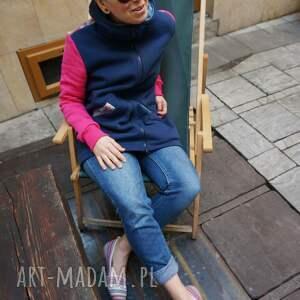 bluzy bluza-zapinana bluza dresowa z kapturem mosaic -