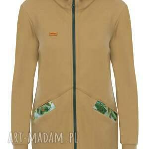 bluza rozpinana bluzy dresowa z kapturem jungle
