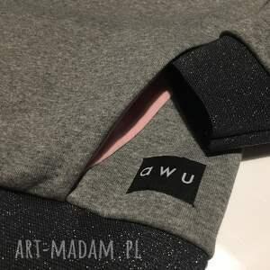 bluzazkominem bluzy różowe bluza z kominem
