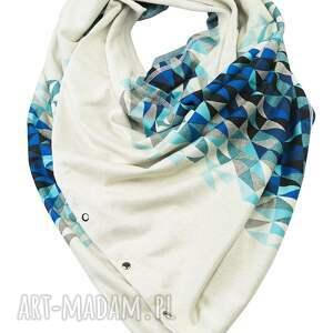 bluzy zapinany dzianinowy szal etola bluza