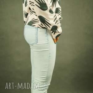bluzy krótka-bluza luźna bluza dresowa pudrowy róż