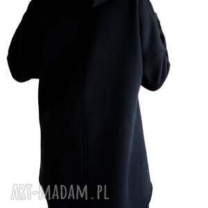 śmieszna bluzy oryginalna czarna bluza z kapturem