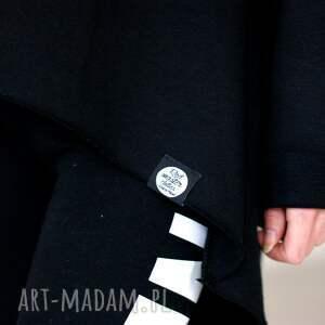 czarne bluzy bluza oryginalna czarna z kapturem