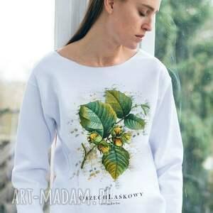 nietuzinkowe bluzy oversize orzech laskowy bluza