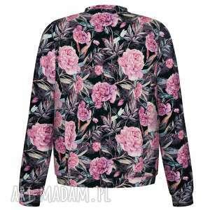 frapujące bluzy bawełniana urocza kobieca dzianinowa bomberka