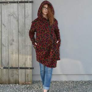bluzy asymetryczna wełniany płaszcz bluza