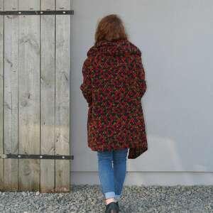 bluzy wełniany-płaszcz wełniany płaszcz bluza