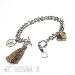 handmade stal szlachetna alloys collection /chain/ heart