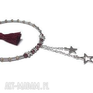 hand made stal szlachetna alloys collection /garnet star/