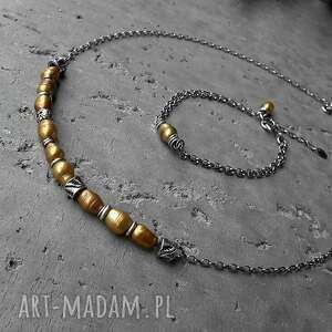 awangardowe łańcuszkowa baroque - bransoletka srebro