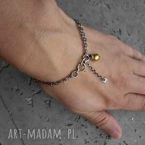 łańcuszkowa baroque - bransoletka srebro