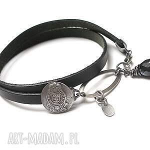 eleganckie bransoletki rzemień black - bransoletka