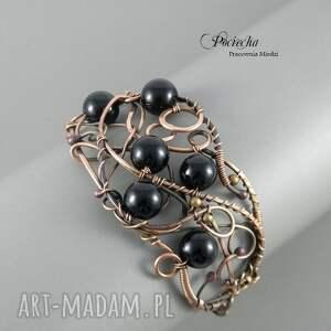 bransoletki bransoletka black, w eleganckim