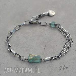 niebieskie srebro błękitna bryłka szła afgańskiego