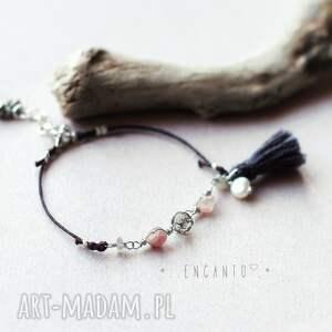 ręcznie robione bransoletki chwost *bohemian minimalist*