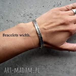 """okrągłe bransoletki bransoleta z kolekcji """" rebellious wykonana"""