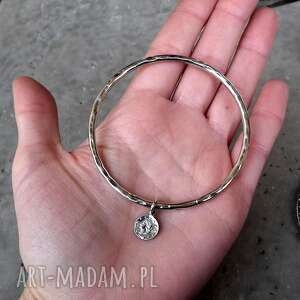 z monetką bransoleta z - srebro