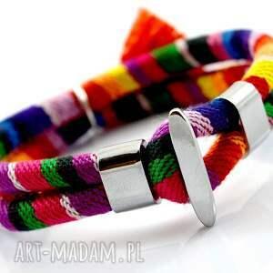 atrakcyjne bransoletka boho joyee rainbow