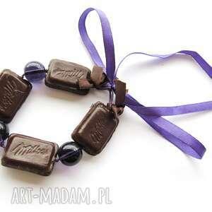oryginalne bransoletki bransoletka czekoladki